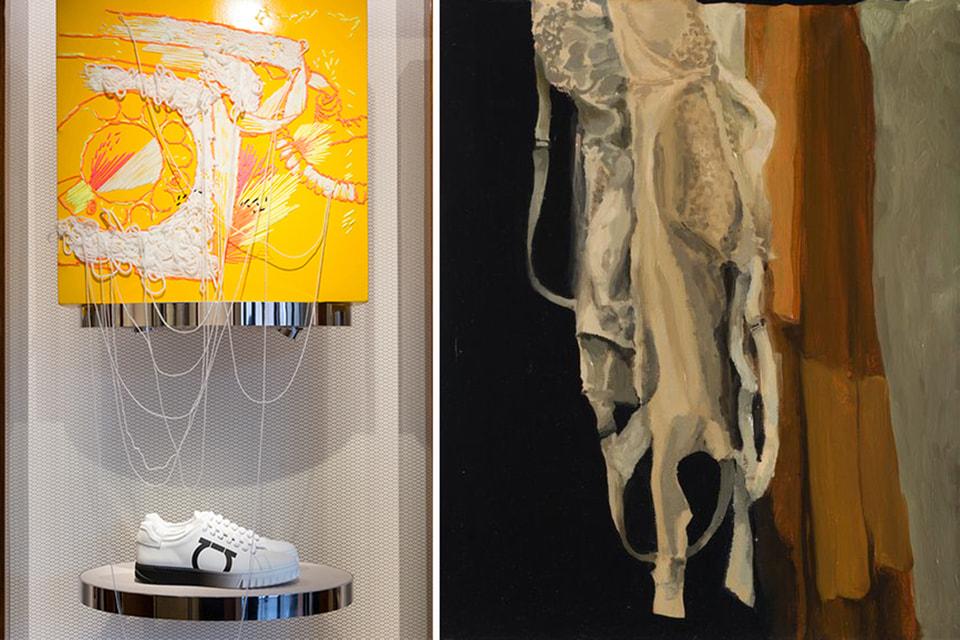 Российские художники вдохновились кроссовками и колготками: выставка галереи Marina Gisich Gallery и компании Jamilco