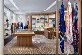 Обновленный интерьер бутика Hermes в Столешниковом