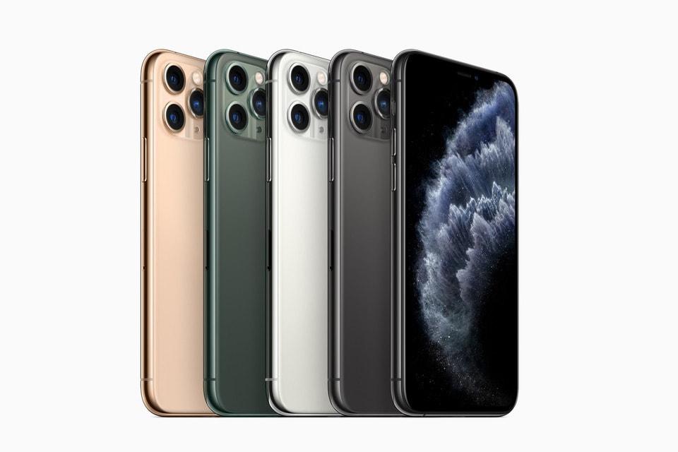 iPhone 11 Pro и iPhone 11 Pro Max доступны в том числе в новом тёмно-зелёном цвете помимо привычных серого, белого и золотистого