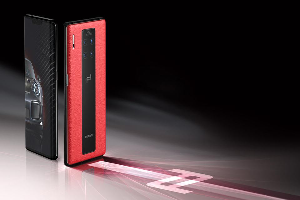Дизайн-бюро использовало в экстерьере смартфона Huawei Mate 30 сочетание черного и красного цветов
