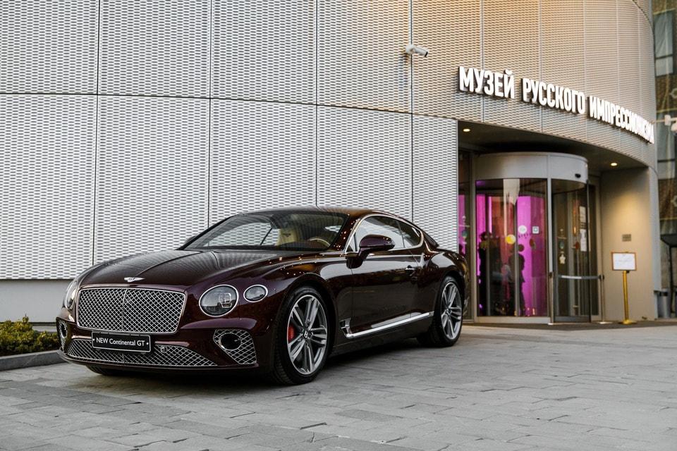 Новая модель Bentley Continental GT
