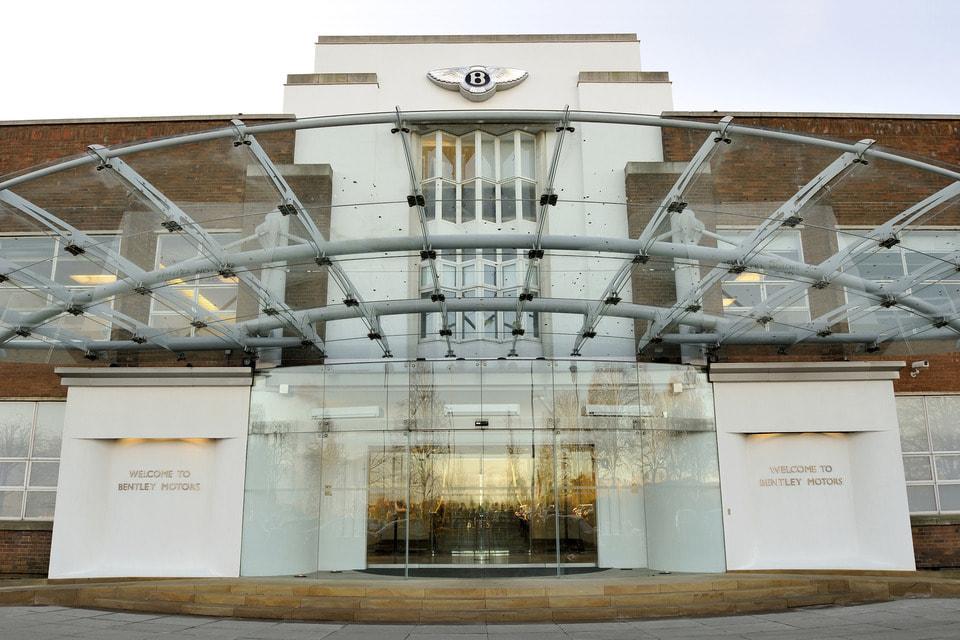 Завод Bentley в Крю (Великобритания)