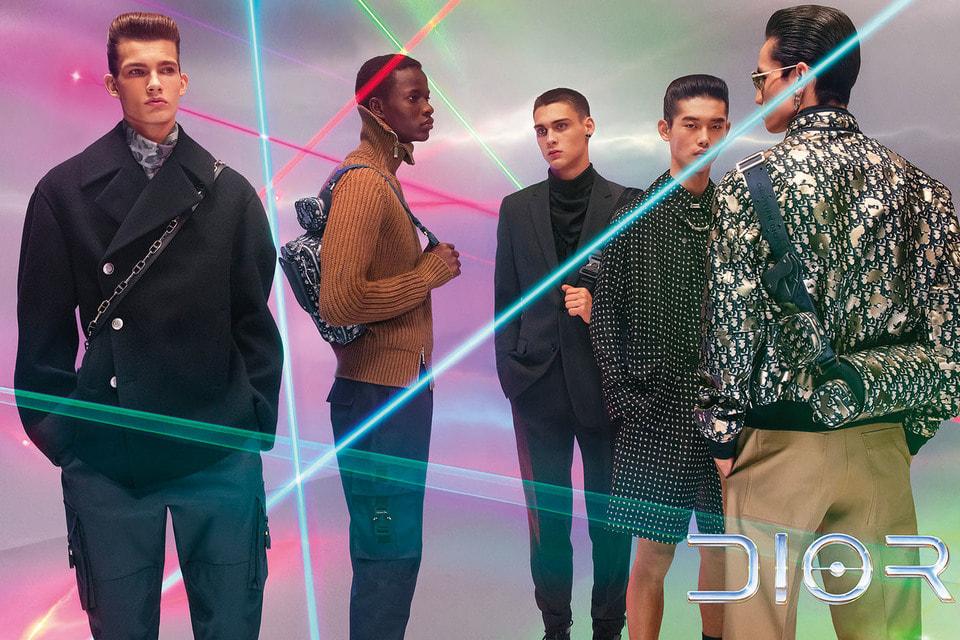 Актуальные мужские образы в рекламной кампании Dior Homme 2019/20