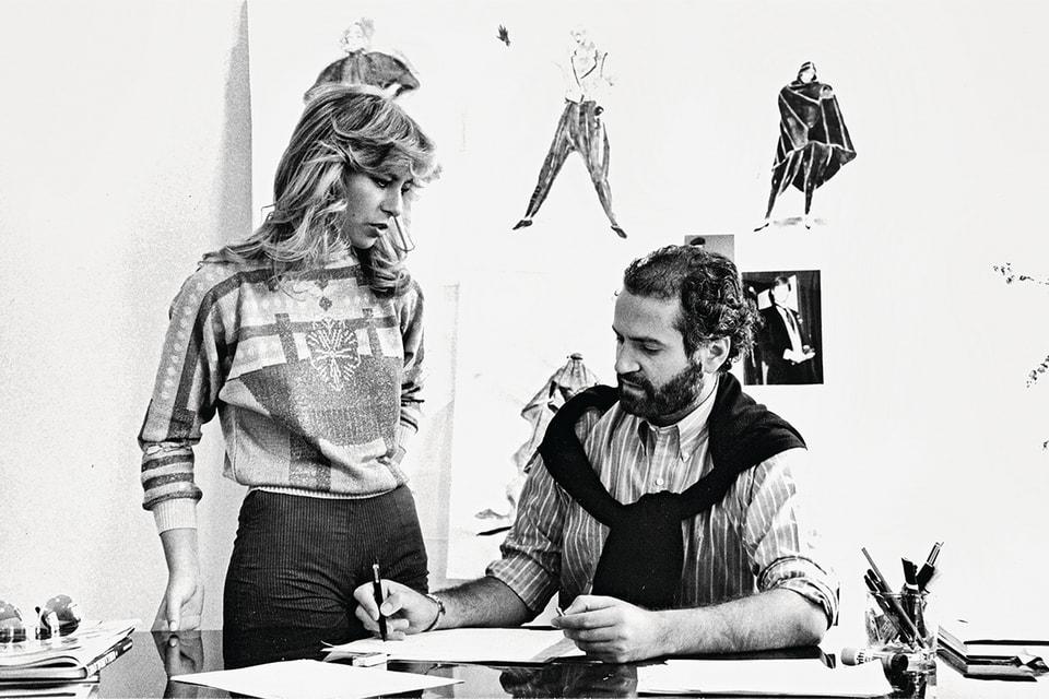 Донателла и Джанни Версаче, начало 1980-х