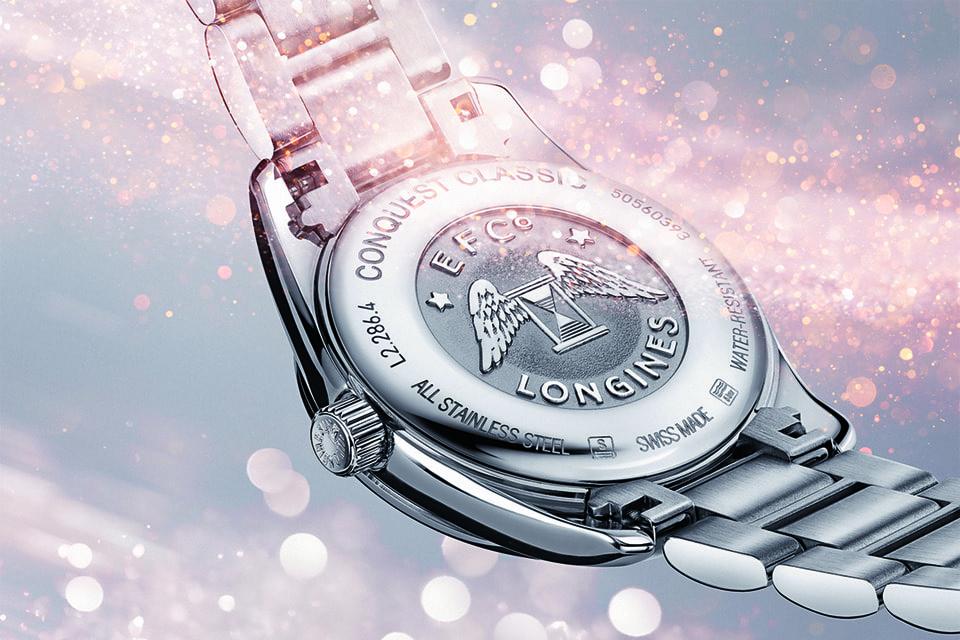 В коллекции Record представлены десятки вариаций часов, в том числе из стали с деталями из розового золота