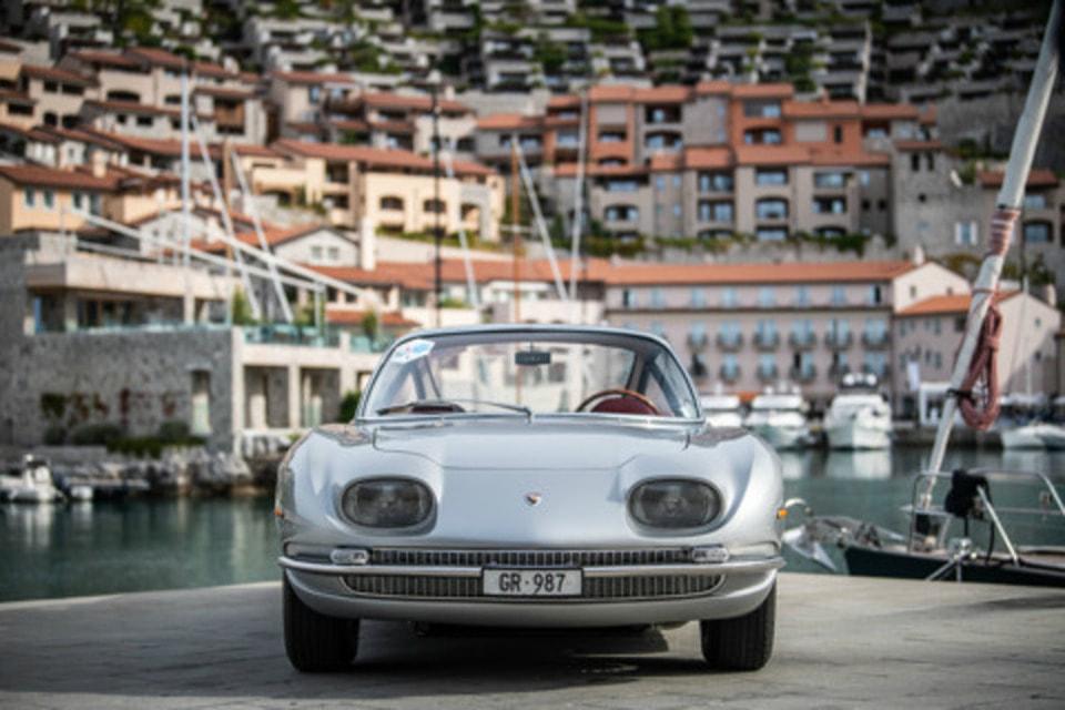 350 GT — старейшая из сохранившихся серийных моделей Lamborghini