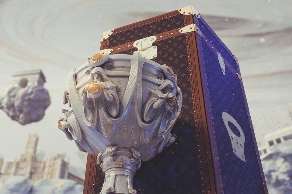 Louis Vuitton создал сундук-трофей Кубка Заклинателя