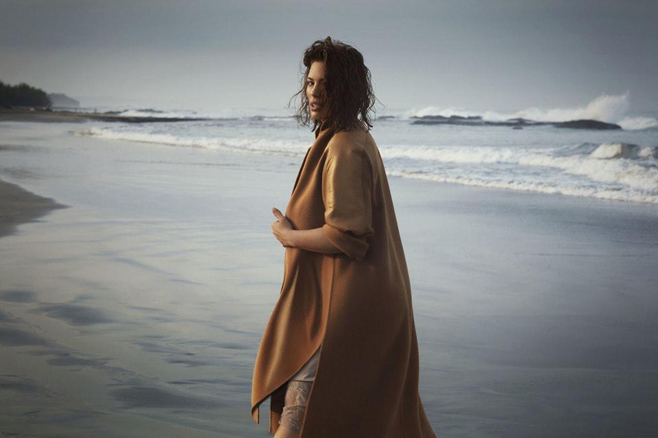 Образ из рекламной кампании Marina Rinaldi, осень-зима 2019/20