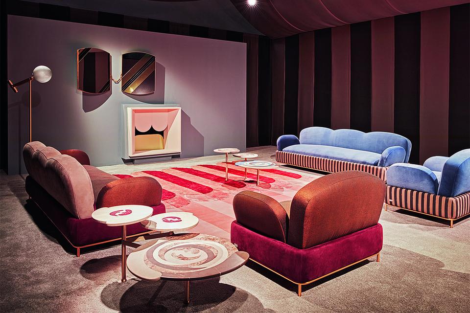 В мебели и предметах интерьера Back Home цвета явлены в дорогих материалах: дереве, мраморе, металле и обивочных тканях