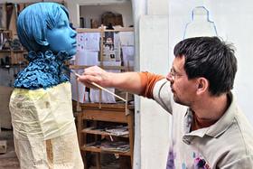 Скульптор Вилли Вергинер не отделяет Человека от Природы