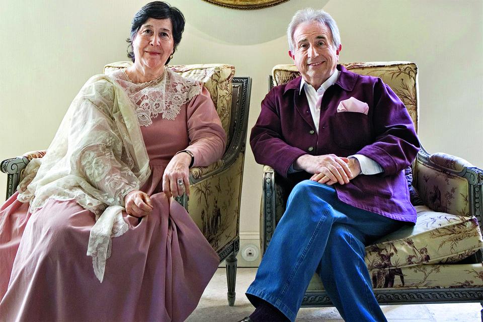 Мишель Герар вместе с женой Кристин Бартелеми продолжили дело императрицы Евгении