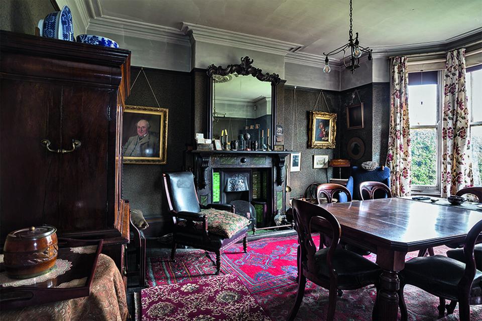 National Trust. Гостиная в доме мистера Строу