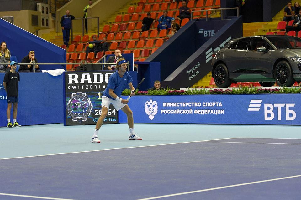 На арене Ледового дворца «Крылатское» завершился юбилейный 30-ый международный теннисный турнир «ВТБ Кубок Кремля»