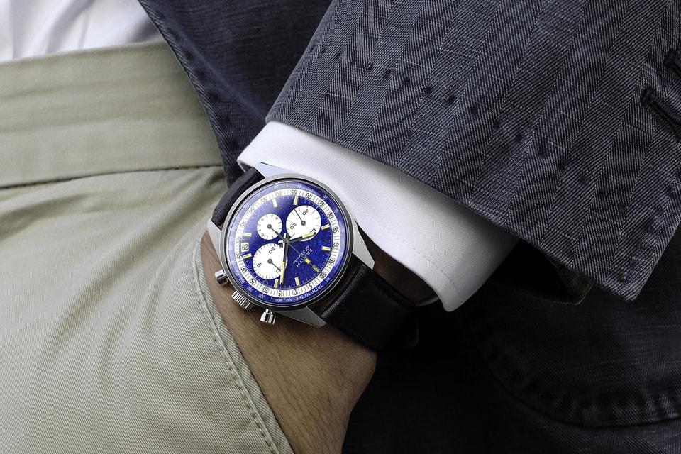 Часовой бренд Zenith и аукционный дом Phillips впервые объединили усилия для создания хронографа El Primero