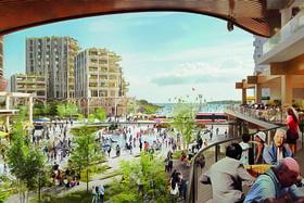 Проект умного квартала в Торонто от компании Sidewalk Labs