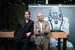 Жорж Керн с другом Breitling Брэдом Питтом