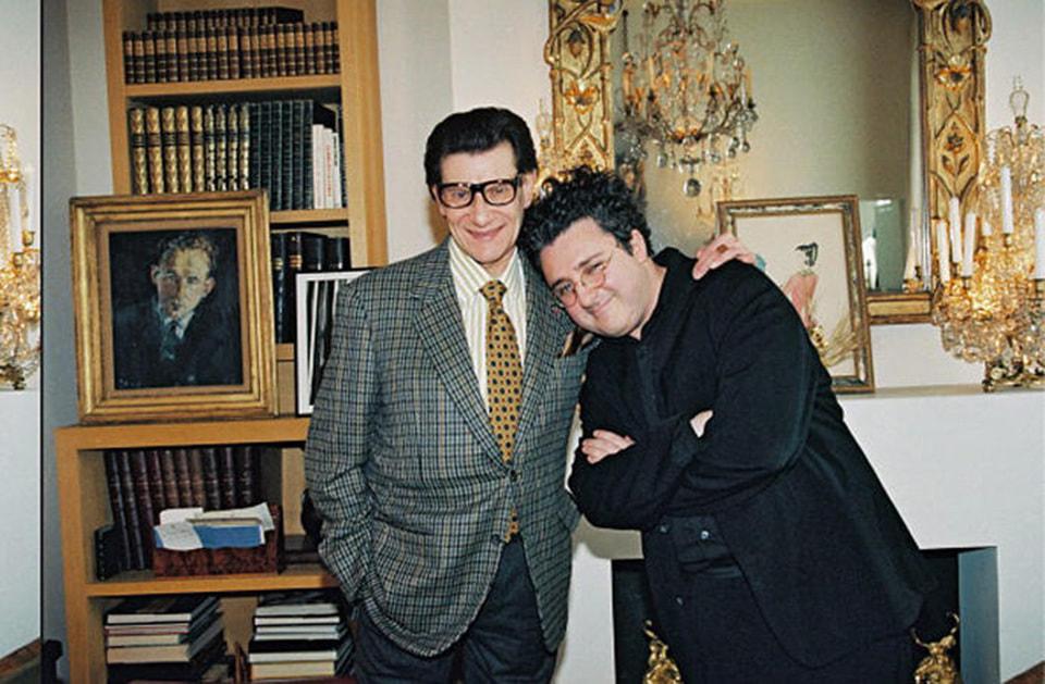 Альбер Эльбаз и Ив Сен Лоран, 1999 год