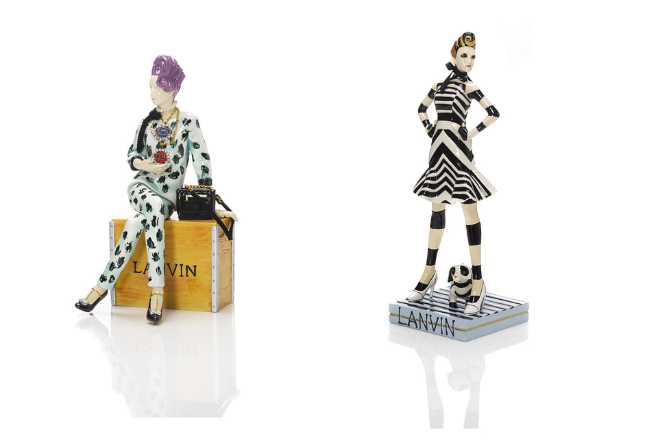 Фарфоровые куклы, созданные Альбером Эльбазом для Дома Lanvin, сегодня являются коллекционной редкостью