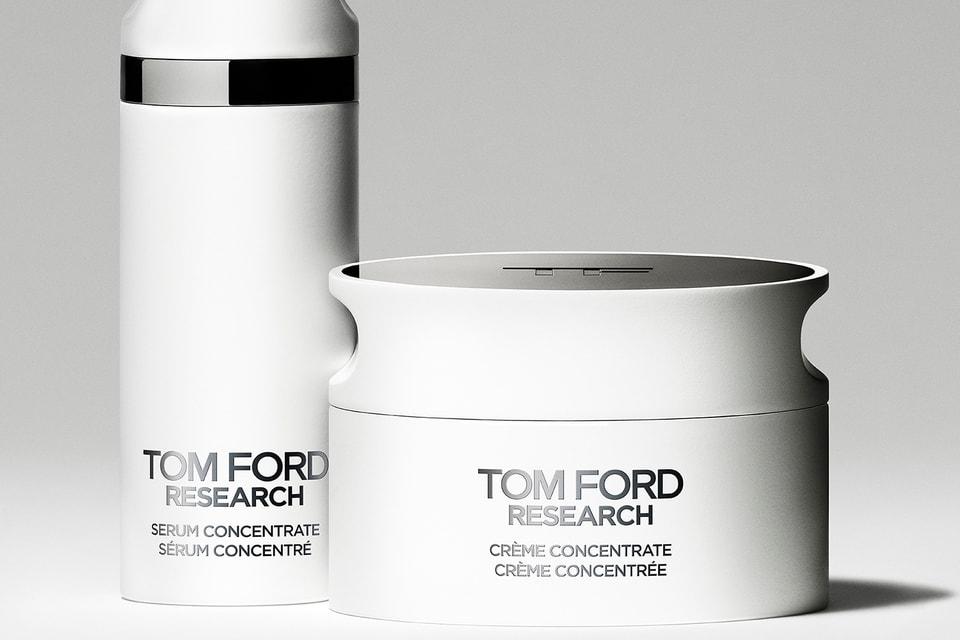 На базе центра уже создана линейка средств Tom Ford Research