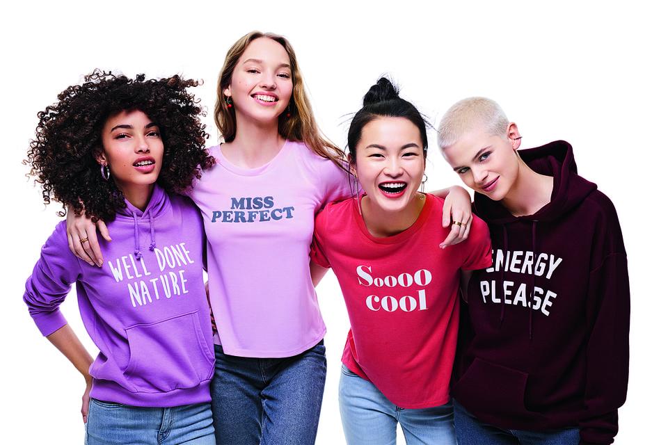 Образ из рекламной кампании молодежной линии My Clarins
