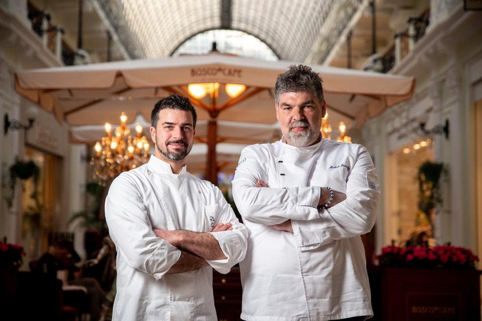 Специально для Bosco Café Микеле Франдолик вместе с шефом Bosco Café Давиде Корсо разработали меню