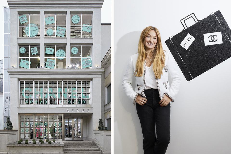 Айсель Трудел, основательница концепт-стора  Aizel на открытии поп-ап пространства Chanel