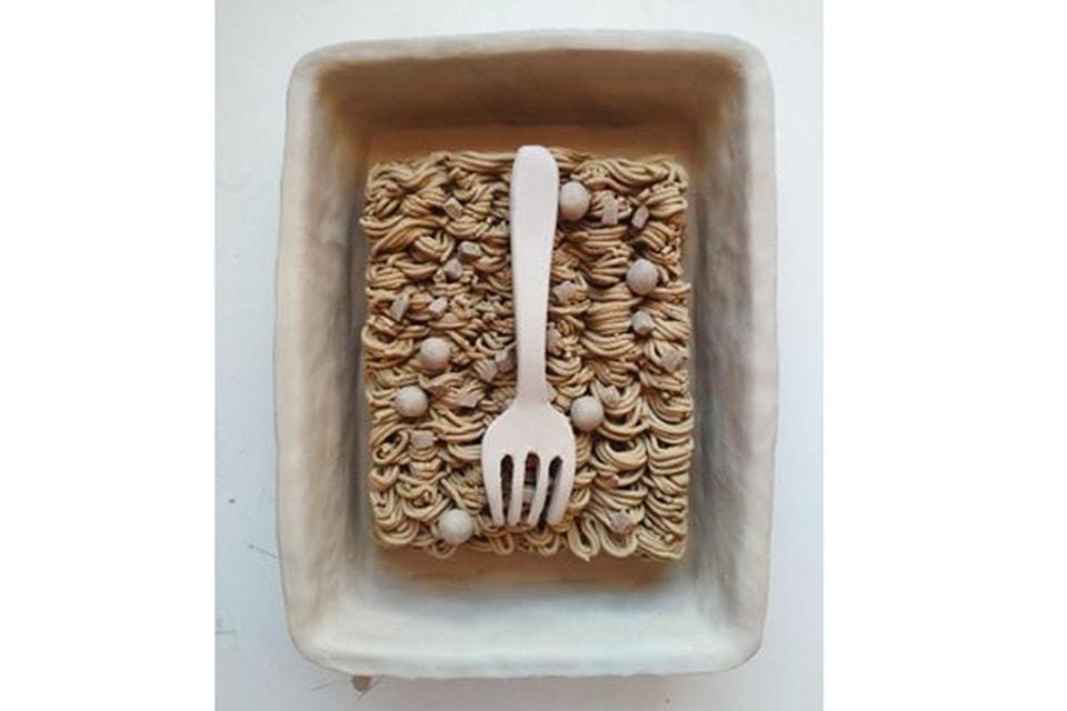 В образах еды - игра в иллюзии и прямолинейный натурализм