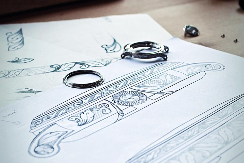 В креативном департаменте Patek Philippe разрабатывают дизайн всех часов и декор корпусов отдельных моделей