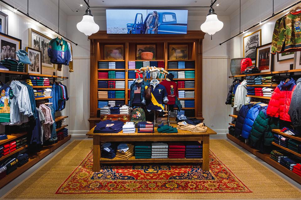 В ТЦ «Метрополис» появился бутик Polo Ralph Lauren