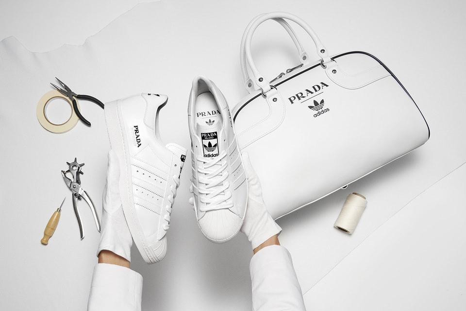 Кроссовки Prada Superstar и сумка Prada Bowling Bag for adidas будут продаваться только в комплекте