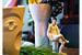 Ведро для охлаждения игристого вина «Лица», Sieger by Furstenberg; скульптура «Женщина с туфлей», ИФЗ; графин «Пульс», Hering Berlin
