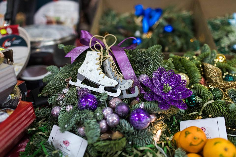Новогоднее настроение на итальянской ярмарке в Москве