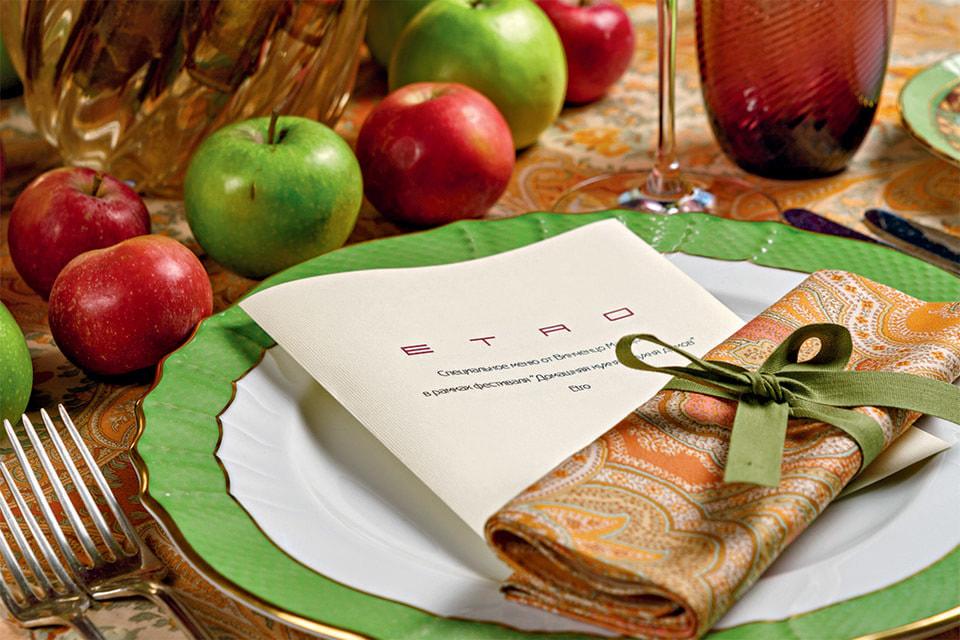 Осенью в «Петровском пассаже» прошли недели кухни Ломбардии и Дома Etro