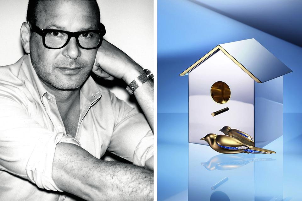 Креативный директор Дома Рид Кракофф задал коллекции  Blue Book особую тему Tiffany Jewel Box – в этой «шкатулке» множество экстравагантных предметов, таких как эта брошь-птичка и серебряный скворечник для нее