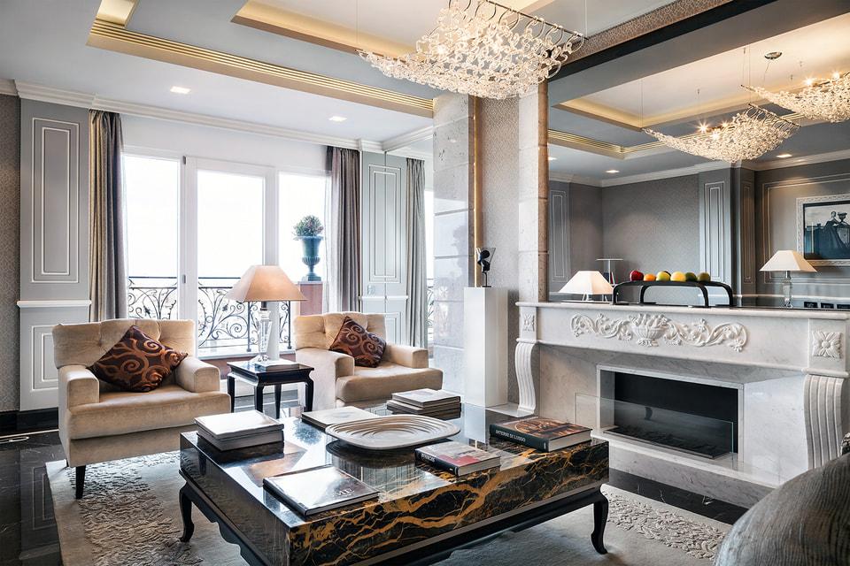 Отель Baglioni Hotel Regina предлагает забронировать пентхаус с личным шеф-поваром