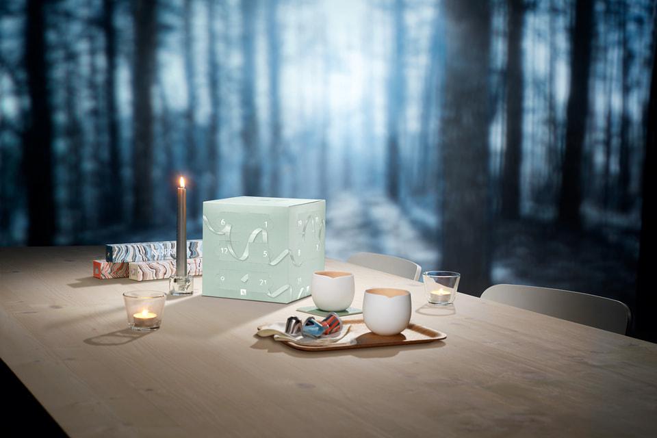 Производитель кофе Nespresso подготовил к Рождеству лимитированную коллекцию Nordic moments
