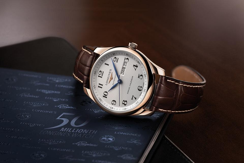 Longines представляет специальную  модель в коллекции The Longines Master Collection с серийным номером 50  000 000