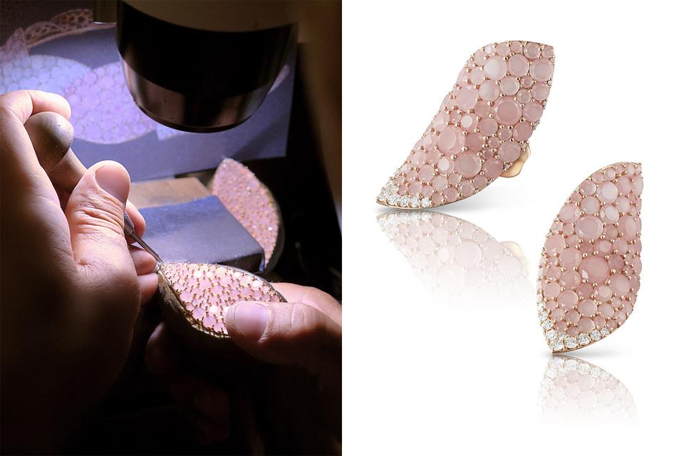 Мастера-ювелиры создают каждое украшение Pasquale Bruni вручную, процесс работы над кольцами из коллекции Lakshmi
