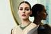 Посол Piaget модель Оливия Палермо в колье с изумрудами из высокоювелирной коллекции Golden Oasis