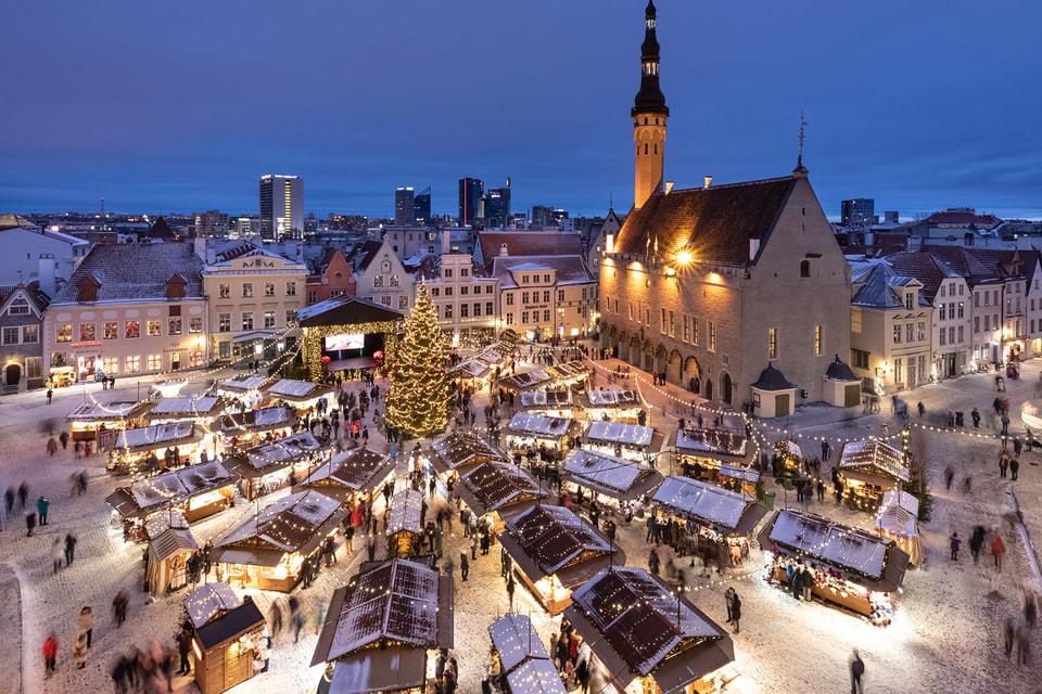 Атмосфера праздника в Таллине: очень хочется глинтвейна и подарков
