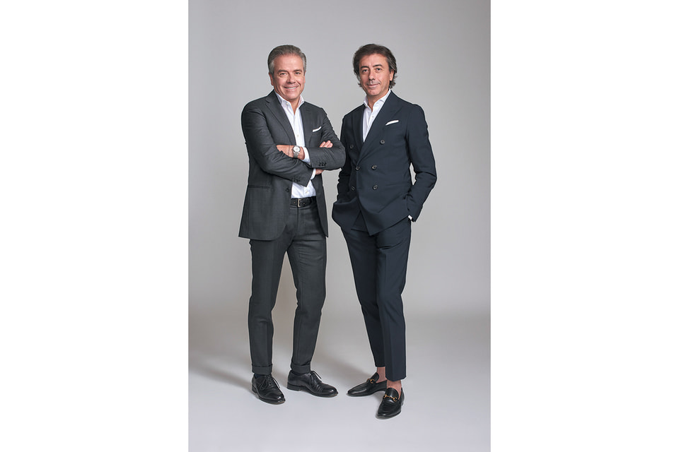 Братья Джакомо и Марио Филиппи, основатели бренда