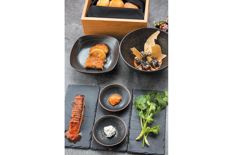 Новые блюда в ресторане азиатской кухни Sintoho, расположившемся в стенах особняка
