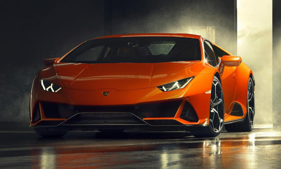 Автомобиль Lamborghini Huracan Evo