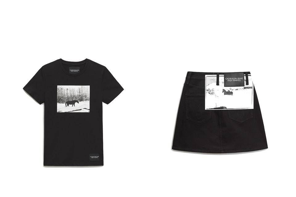 Работы Энди Уорхола на одежде из капсульной коллекции Calvin Klein Jeans