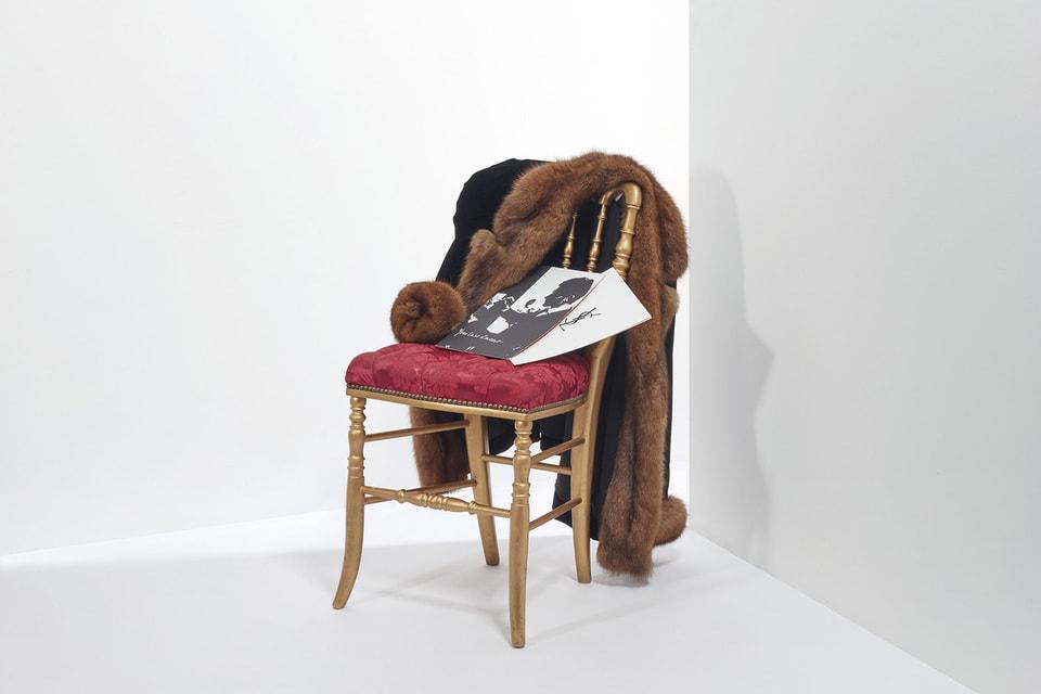 Шелковый жакет, отделанный мехом из осенне-зимней коллекции haute couture 1997–1998гг (оценка: €800 – 1 200)