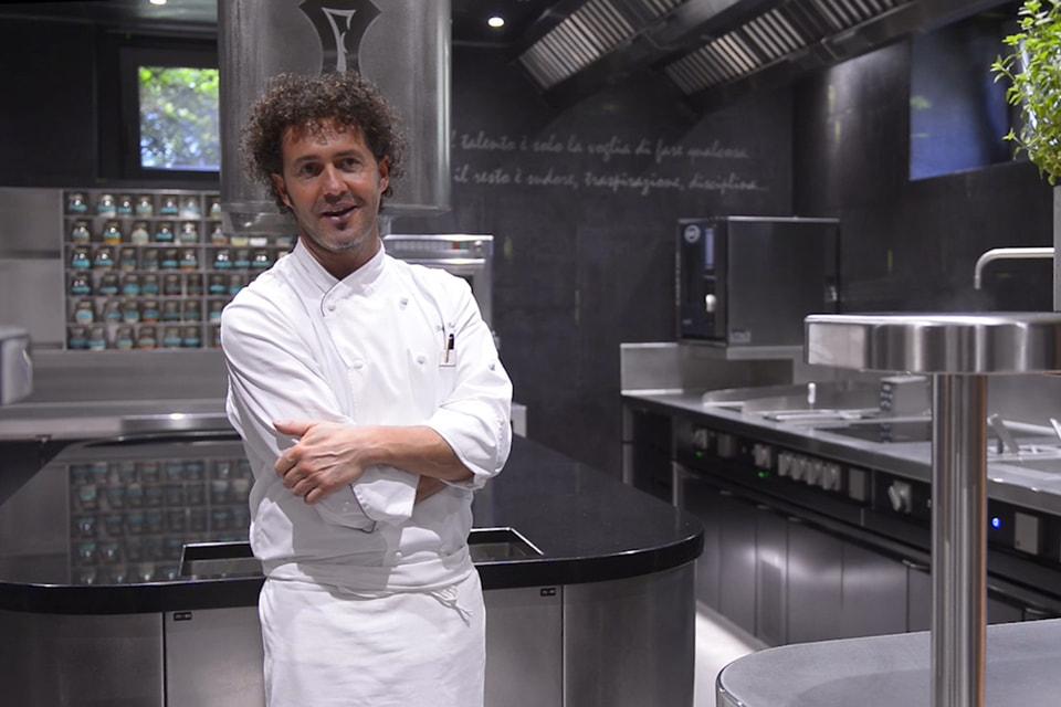 Шеф-повар Villa Feltrinelli Стефано Байокко