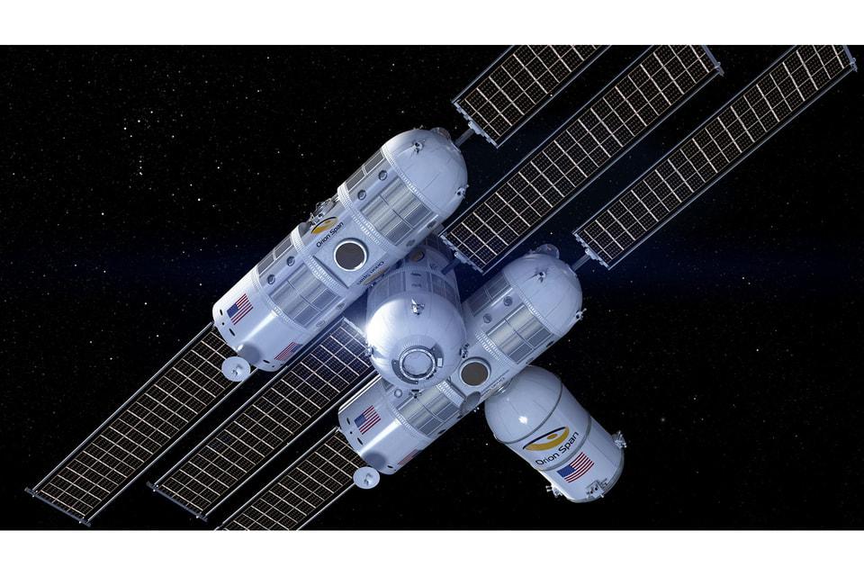 Концепт космического отеля класса люкс Aurora Station