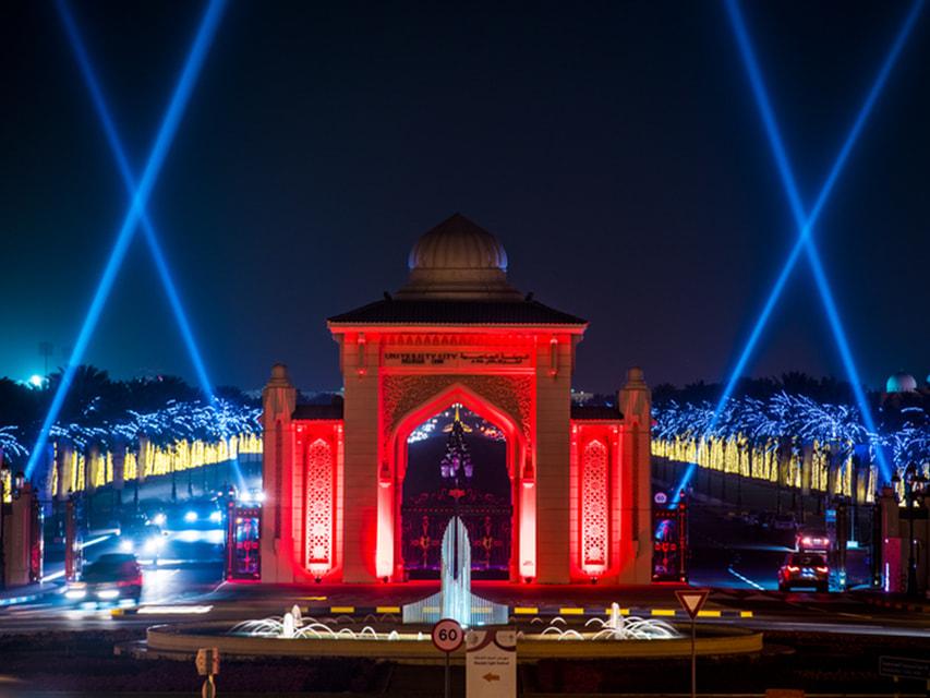 Дизайном световых декораций занимались дизайнеры и художники со всего мира