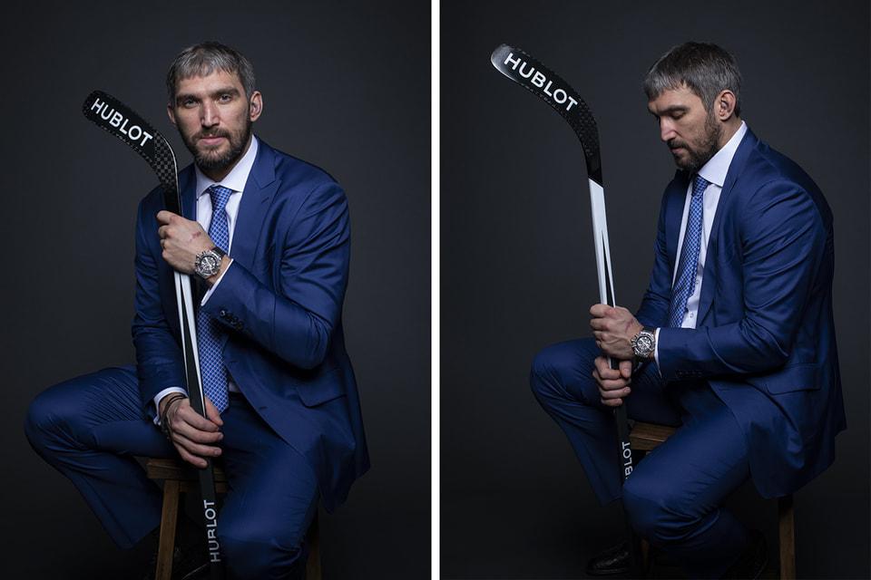 Теперь Александр Овечкин будет представлять Hublot на официальных мероприятиях бренда и носить выбранную им самим модель часов
