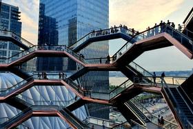 Vessel, новая смотровая площадка, открывшаяся в городе весной 2019 года